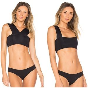 L*Space Parker convertible bikini top